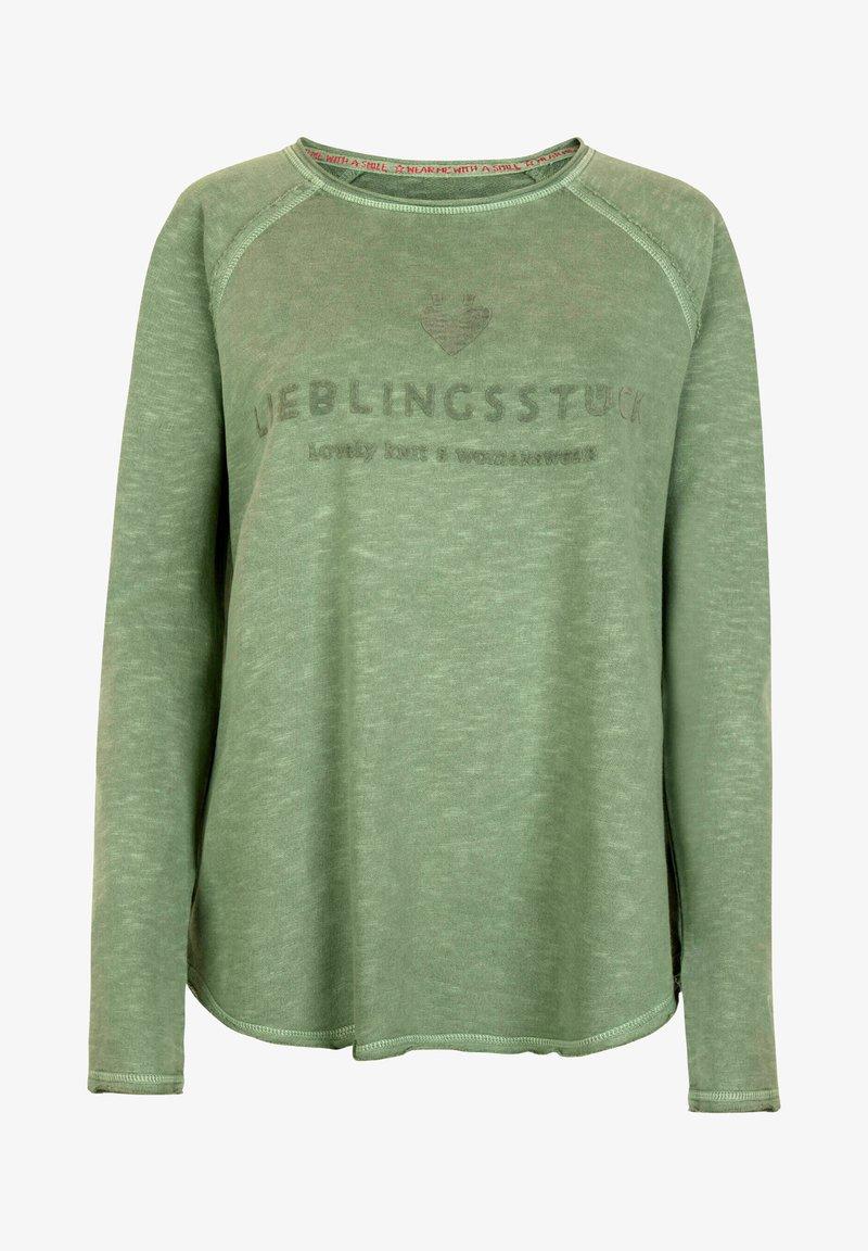 Lieblingsstück - Long sleeved top - oliv