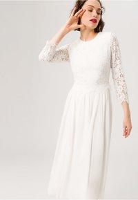 IVY & OAK BRIDAL - BRIDAL 2IN1 MIDI  - Cocktail dress / Party dress - snow white - 3