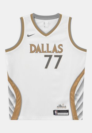 NBA CITY EDITION DALLAS MAVERICKS LUKA DONCIC UNISEX - Klubbkläder - white