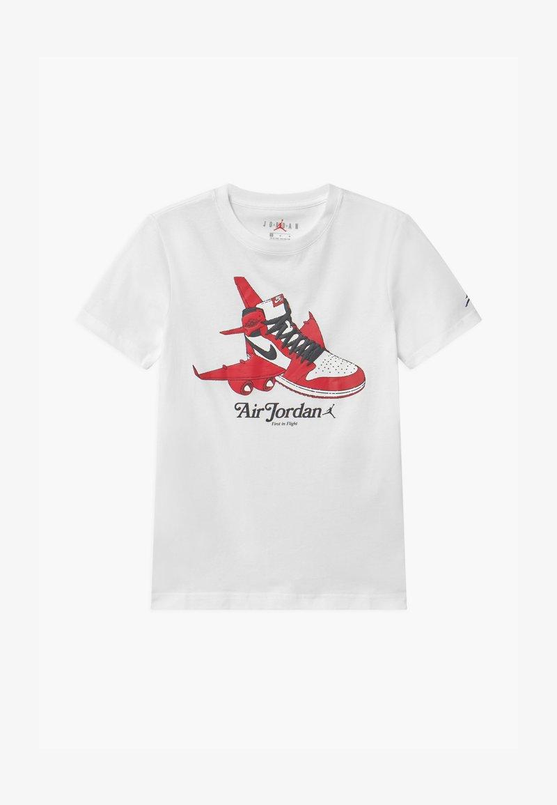 Jordan - TAKEOFF - Print T-shirt - white