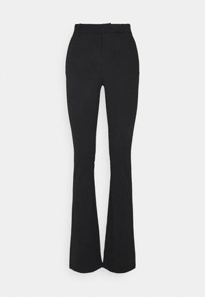 ONLROCKY MID FLARED PANT - Kalhoty - black