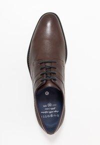Bugatti - RINALDO ECO - Smart lace-ups - dark brown - 1