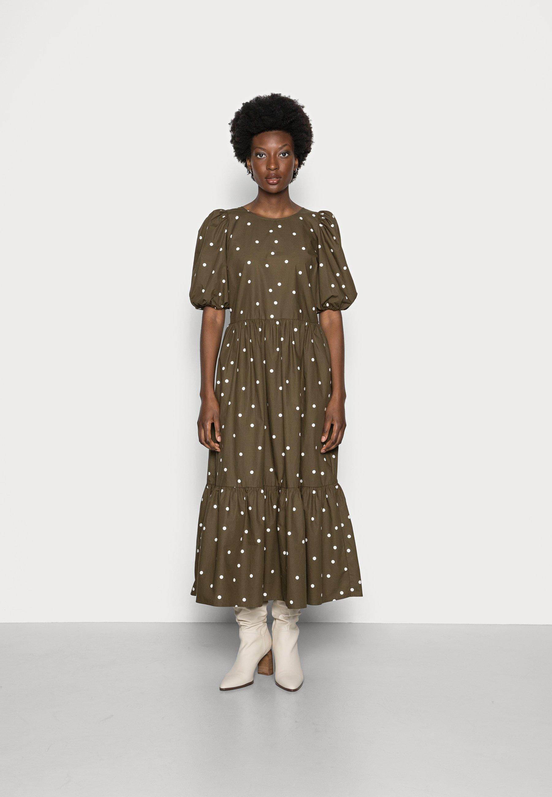 Femme DRESS PUFF SLEEVE - Robe longue