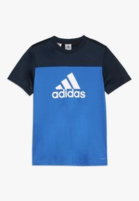 adidas Performance - TEE - T-shirts print - blue/conavy/white - 0