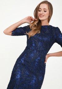 Madam-T - Cocktail dress / Party dress - indigo - 3