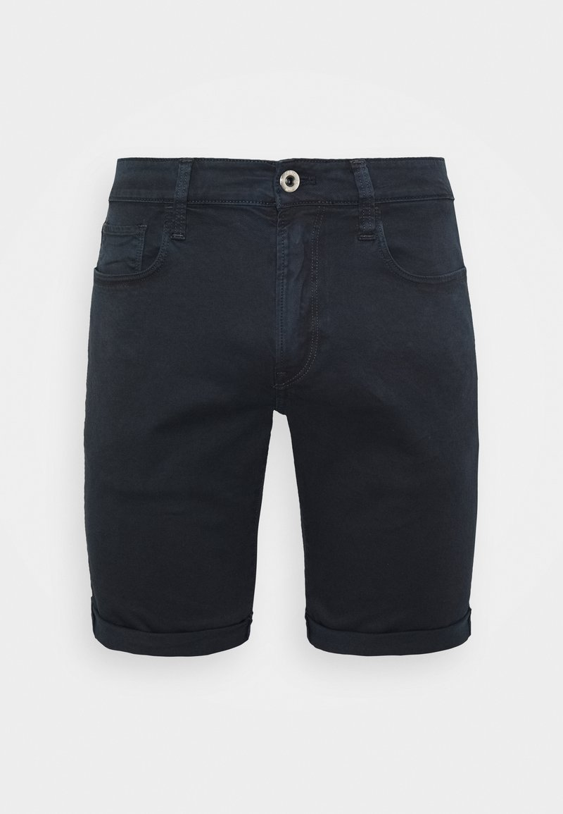 G-Star - 3301 SLIM - Denim shorts - bracket stretch twill - mazarine blue