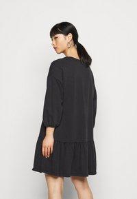 ONLY Petite - ONLDEA 3/4 TUNIC DRESS - Day dress - black - 2