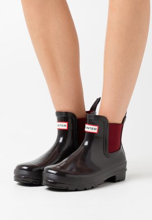 WOMENS ORIGINAL CHELSEA GLOSS - Wellies - onyx/autumn stone
