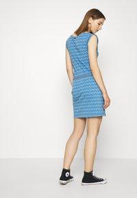 Ragwear - ZIG ZAG - Jersey dress - blue - 2