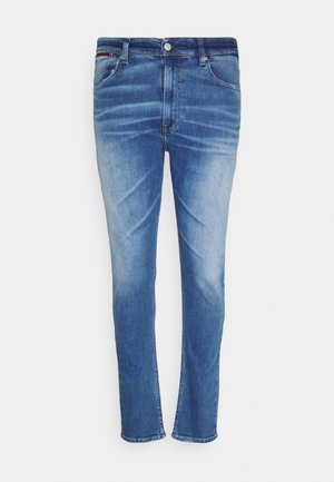 SKINNY FIT PLUS - Slim fit jeans - stark