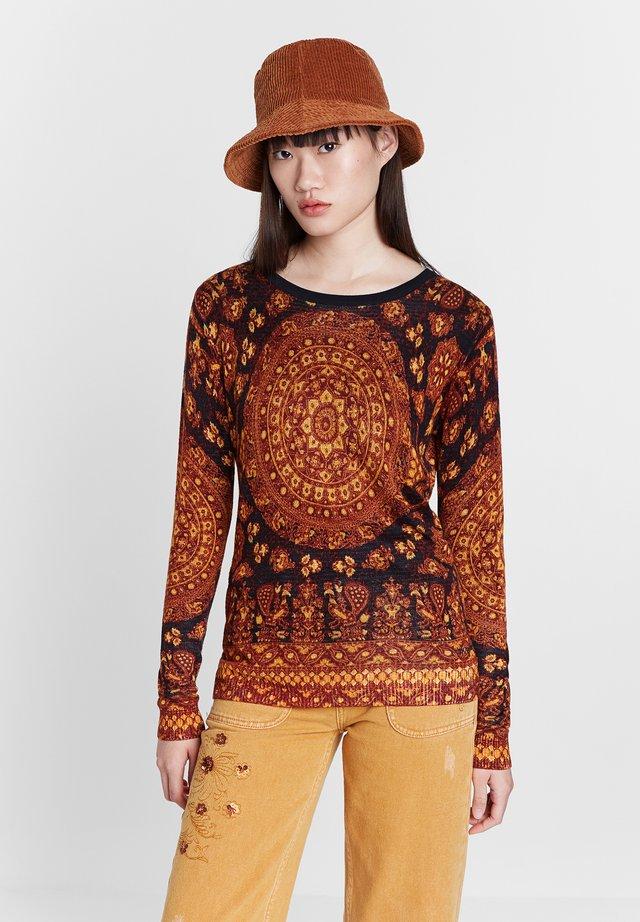 LUGANO - Sweater - brown