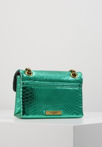 Kurt Geiger London - MINI KENSINGTON X BAG - Across body bag - mid green - 2