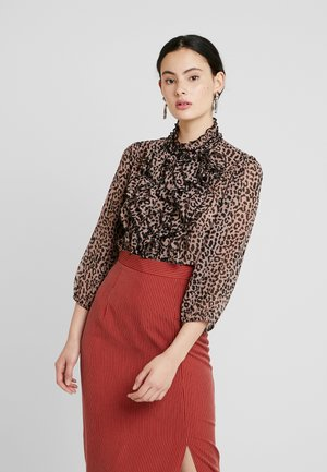 Button-down blouse - antler