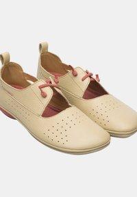 Camper - NINA - Ankle strap ballet pumps - beige - 2