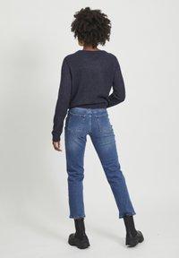 Vila - VISOMMER - Straight leg jeans - medium blue denim - 1