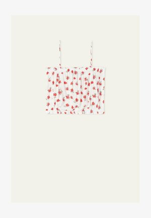 Top - bianco st.red pinks