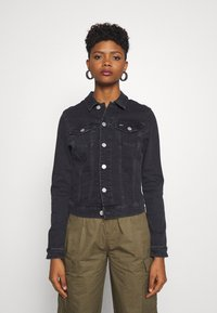 Tommy Jeans - VIVIANNE SLIM TRUCKER - Denim jacket - bird black stretch - 3