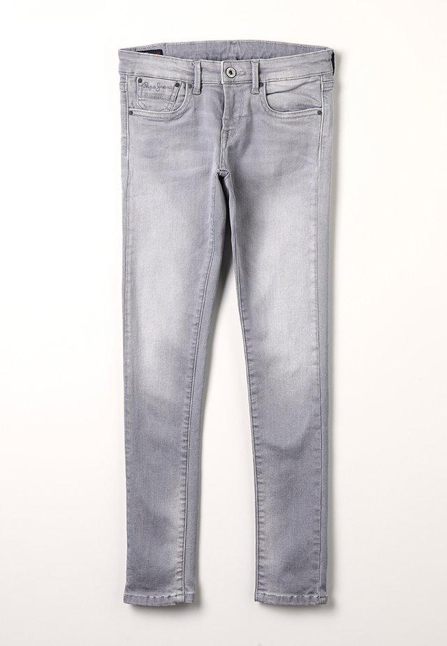PIXLETTE - Jeans Skinny Fit - grey denim