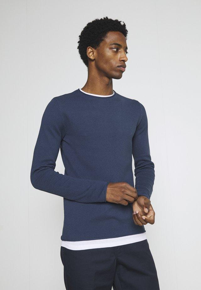 ALABASTRO - Sweter - blue