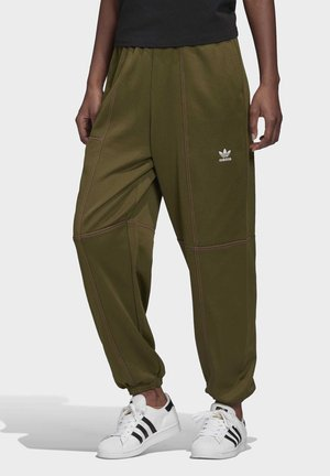 TRACKSUIT BOTTOMS - Tracksuit bottoms - green