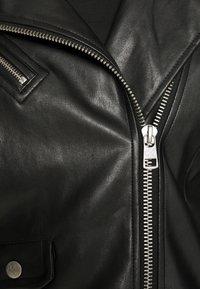 Calvin Klein Jeans - JACKET - Bunda zumělé kůže - black - 8