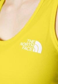 The North Face - WOMENS FLEX TANK - Sports shirt - lemon - 5