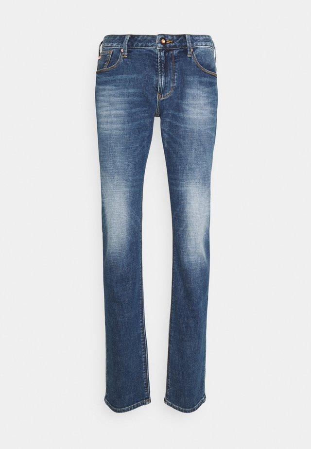 5 POCKETS PANT - Jeans slim fit - blue denim
