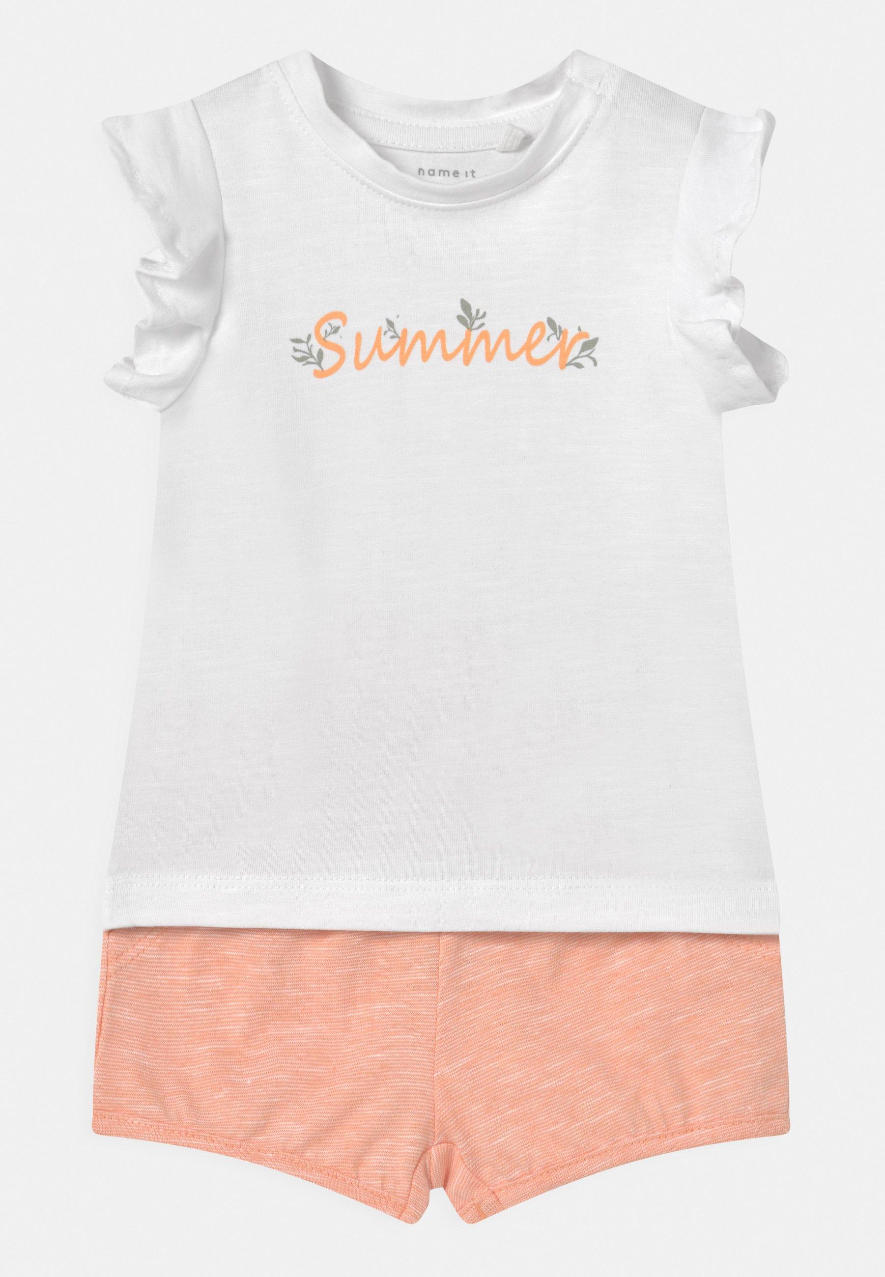 Kids NBFHALISE NBFHANNE SET - Print T-shirt