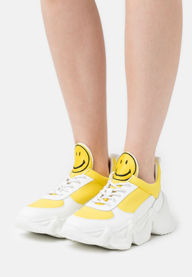 Joshua Sanders - CAPSULE SMILE DONNA  - Sneaker low - yellow
