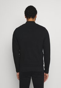 Jack & Jones PREMIUM - JPRGERAD ZIP CREW NECK - Cardigan - black - 2