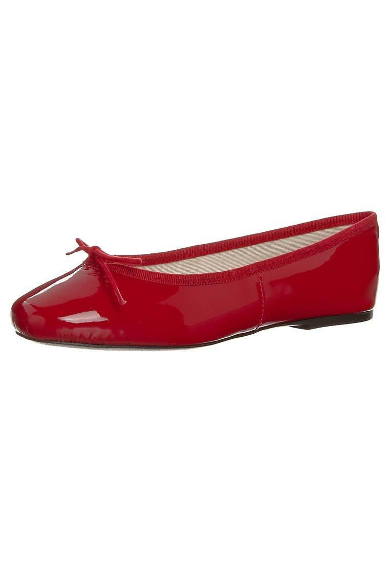 HIRICA - ZOE VEAU - Ballet pumps - vernis rouge