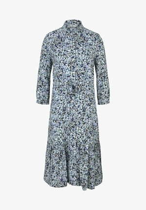 Shirt dress - teal