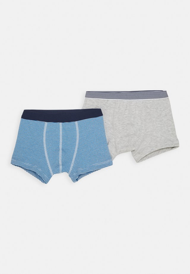 BOXERS 2 PACK - Onderbroeken - grey/blue/white