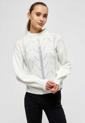 Pullover - broken white