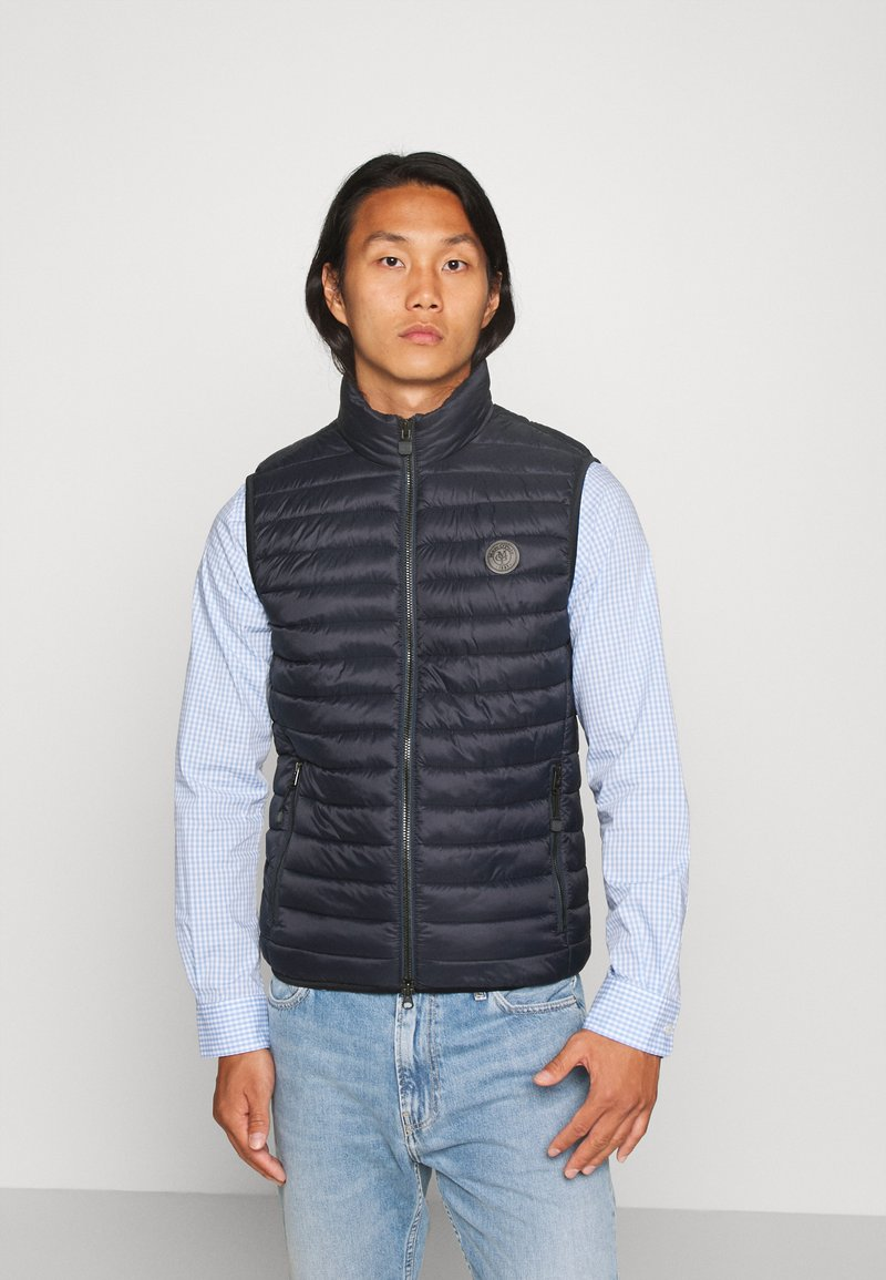 Marc O'Polo - NO DOWN STYLE - Waistcoat - total eclipse