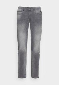 GROVER BIO - Straight leg -farkut - grey denim
