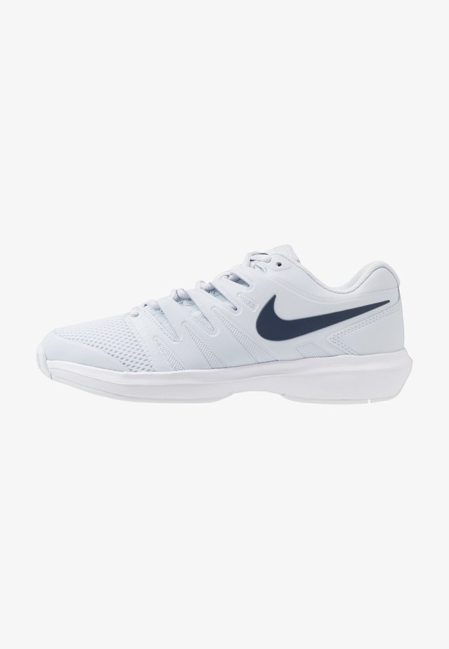 AIR ZOOM PRESTIGE - Chaussures de tennis toutes surfaces - football grey/midnight navy/white