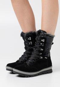 Jana - Winter boots - black - 0