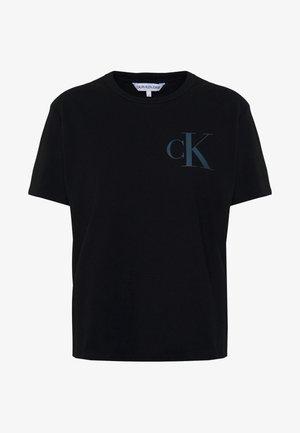 BACK INSTITUTIONAL LOGO SLIM TEE - T-shirts med print -  black