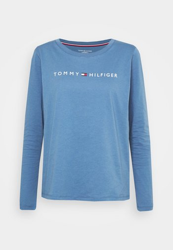 LOGO - Pyjama top - iron blue
