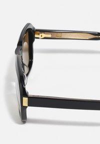 Dunhill - UNISEX - Sunglasses - black/black/brown - 4