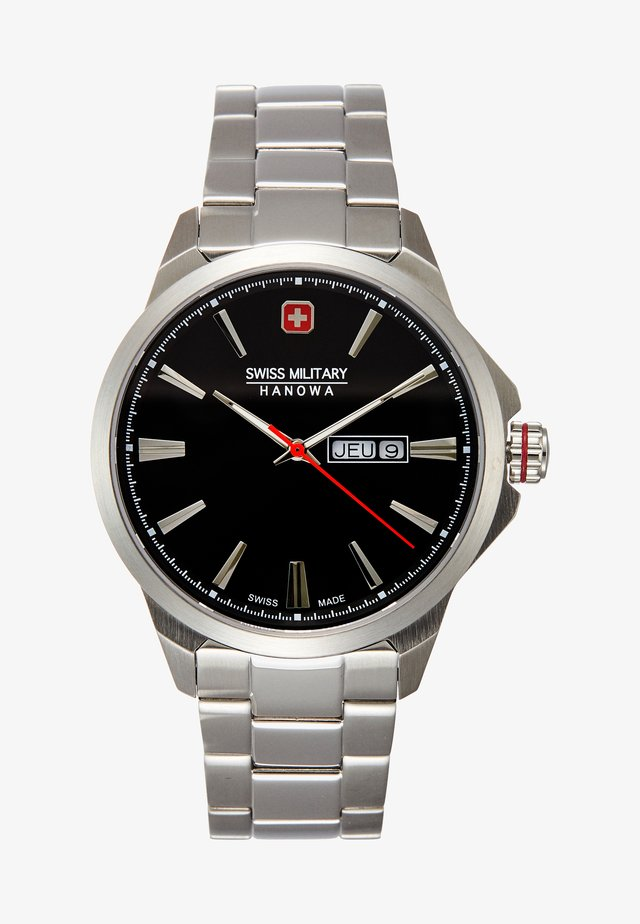 DAY DATE CLASSIC - Hodinky - black/silver-coloured
