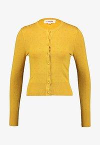 Louche - IDIE SPOT - Cardigan - yellow - 5
