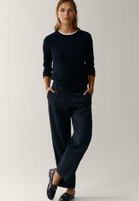 Massimo Dutti - Pantaloni - black - 1