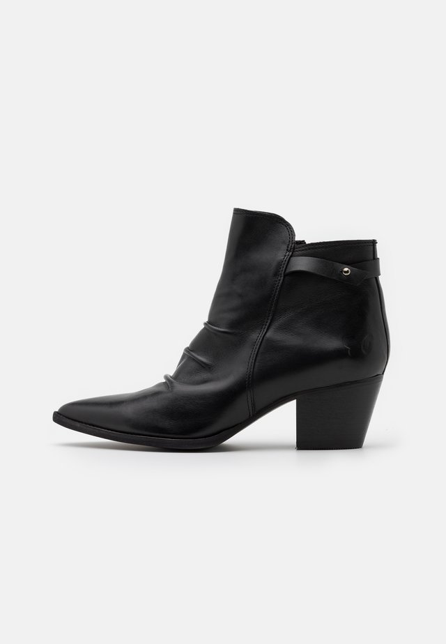 ELMA - Classic ankle boots - uraco black