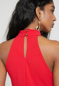 Club L London - HIGH NECK DRESS - Maxi dress - red - 4
