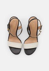 Lauren Ralph Lauren - GWEN - Sandály na vysokém podpatku - vanilla/black/gold - 4