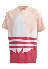adidas Originals - LARGE TREFOIL T-SHIRT - T-shirt imprimé - pink - 0
