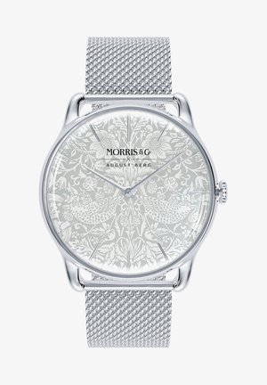 UHR MORRIS & CO SILVER MESH 38MM - Watch - pure