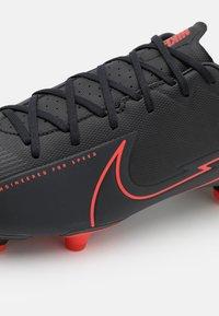 Nike Performance - MERCURIAL VAPOR 13 ACADEMY FG/MG - Moulded stud football boots - black/dark smoke grey - 5